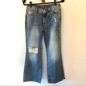 Urban Outfitter BDG Wide Leg Distressed Jeans